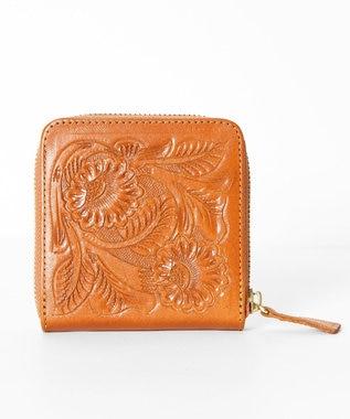GRACE CONTINENTAL Box Case Wallet ハニー
