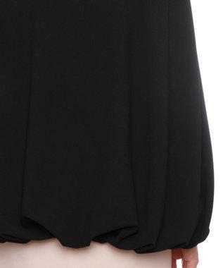 GRACE CONTINENTAL イレギュラースリーブジャケット ブラック