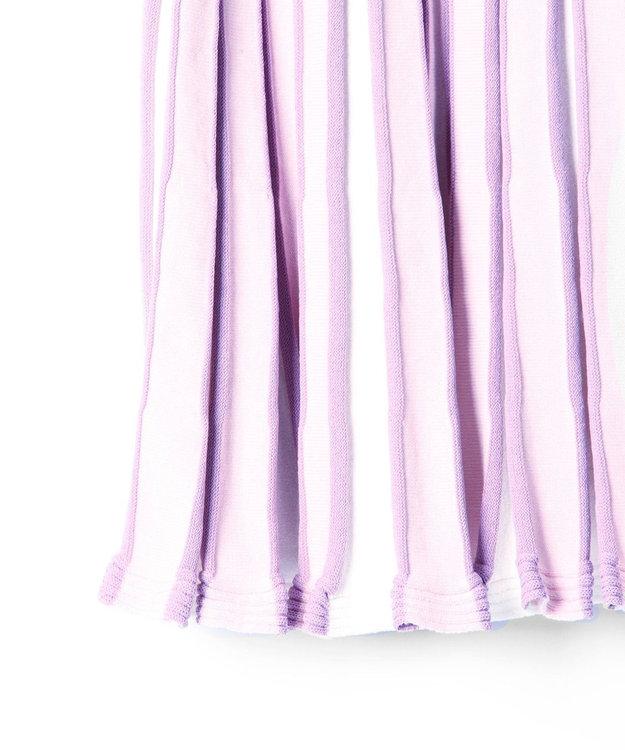 GRACE CONTINENTAL バイカラーニットスカート