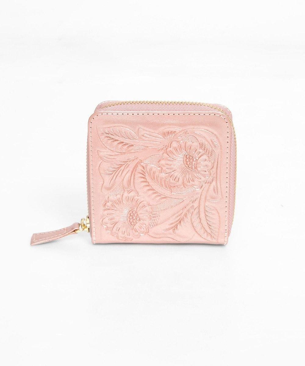 GRACE CONTINENTAL Box Case Wallet ピンクゴールド