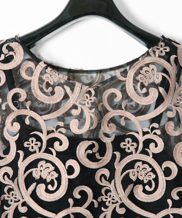 GRACE CONTINENTAL セパレート刺繍サロペット