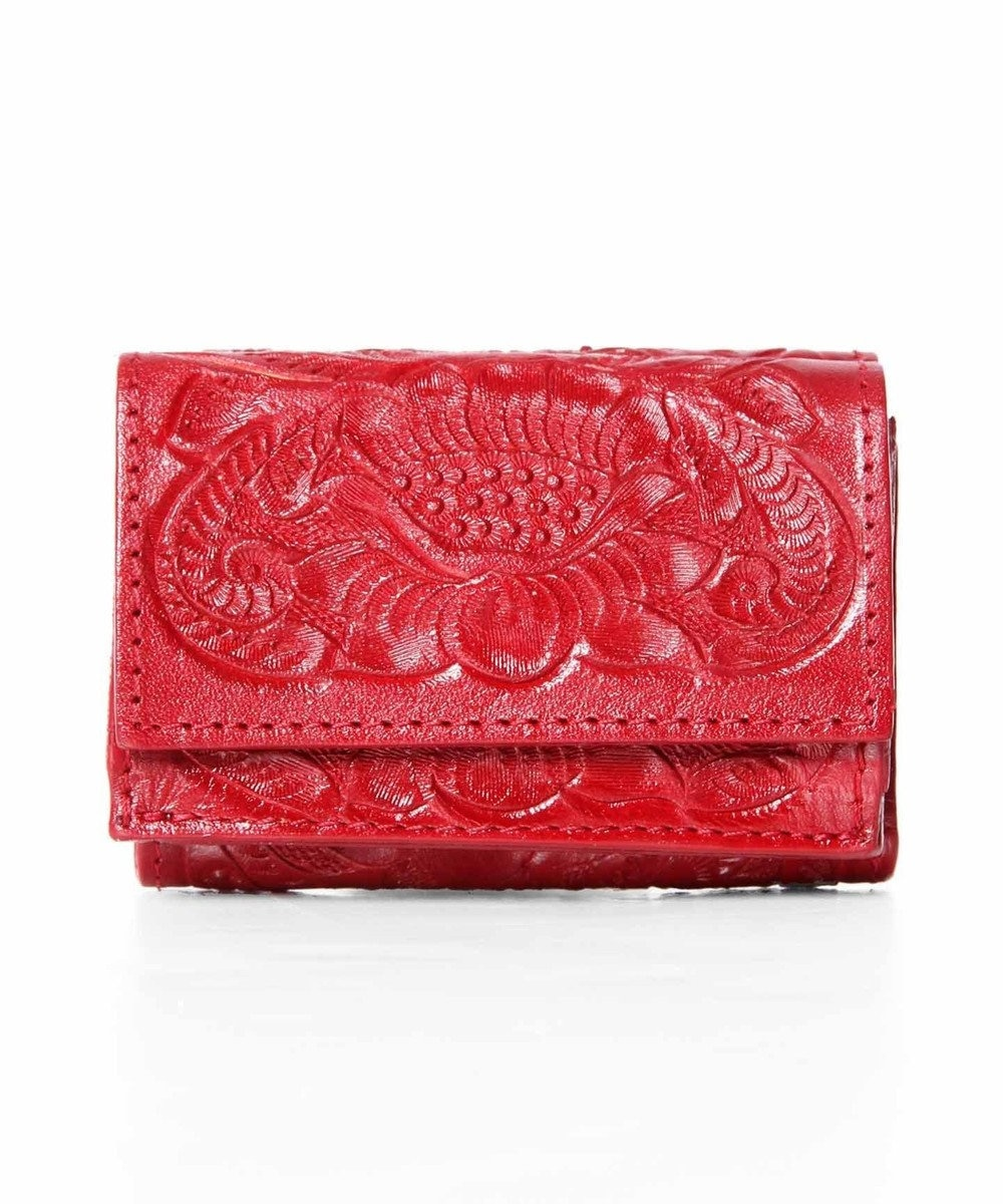 GRACE CONTINENTAL Small Wallet2 レッド