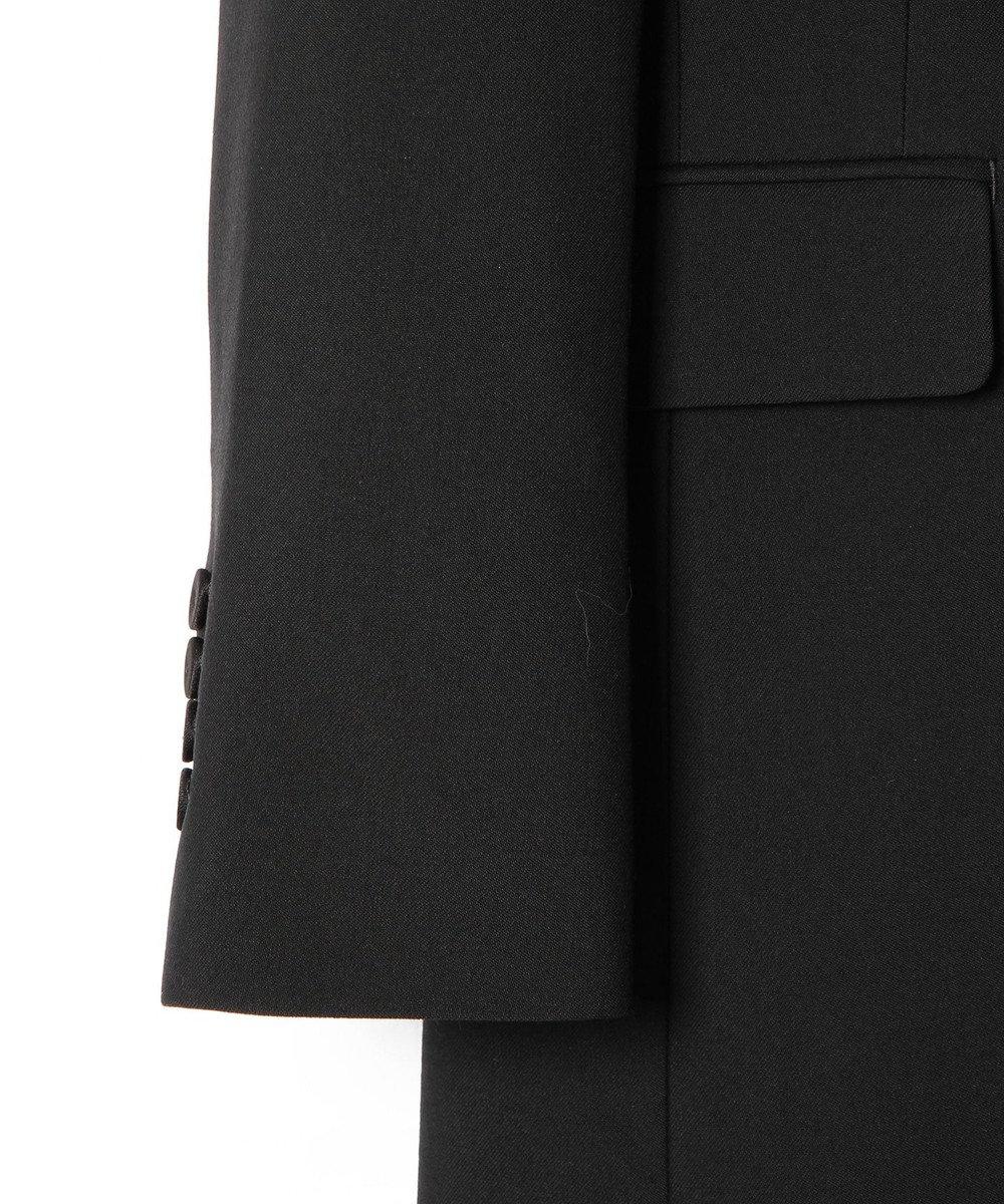 GRACE CONTINENTAL ウールロングジャケット ブラック