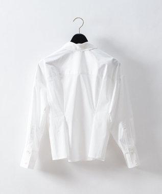 GRACE CONTINENTAL タックシャツ ホワイト
