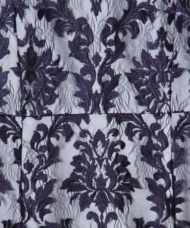 GRACE CONTINENTAL 刺繍マーメイドワンピース
