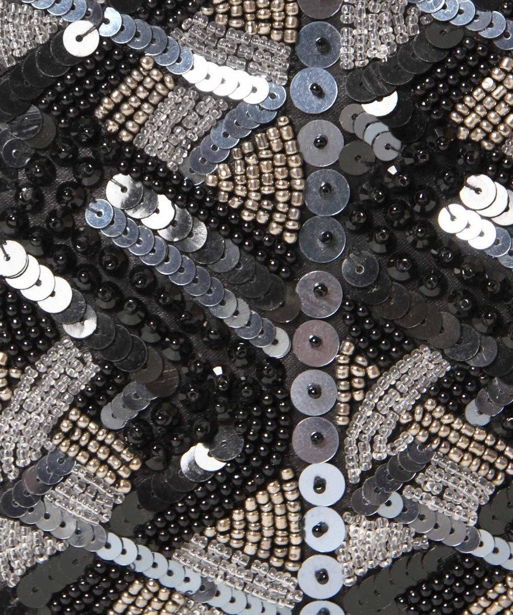 GRACE CONTINENTAL ブレイズ刺繍バッグ ブラック