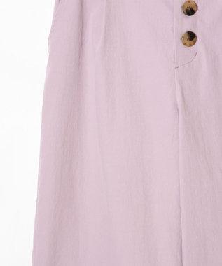 GRACE CONTINENTAL フロントボタンパンツ ピンク