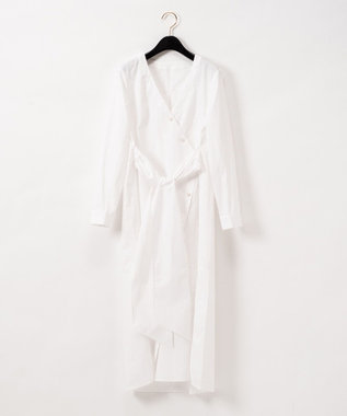 GRACE CONTINENTAL ロングシャツチュニック ホワイト