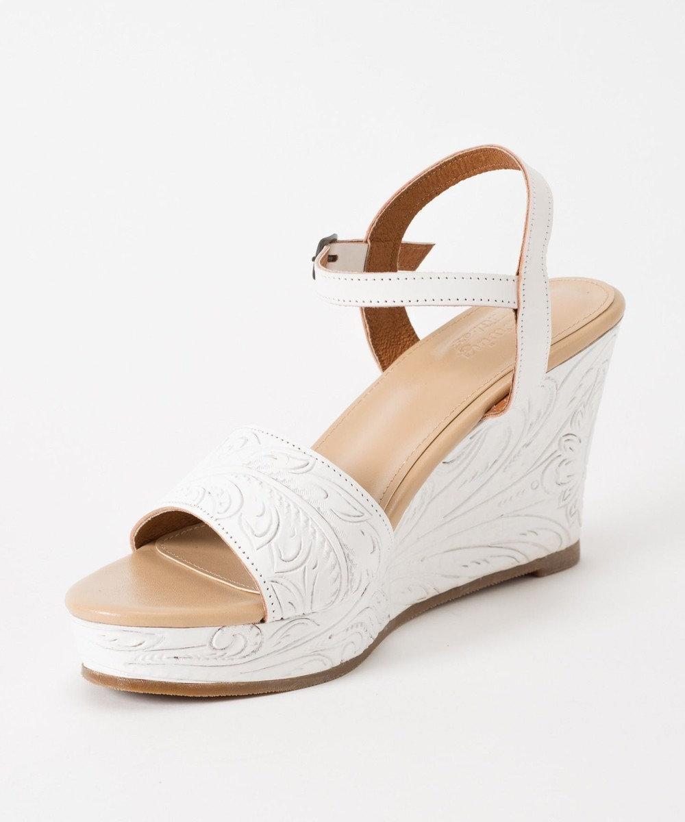 GRACE CONTINENTAL Wedge Sandal ホワイト