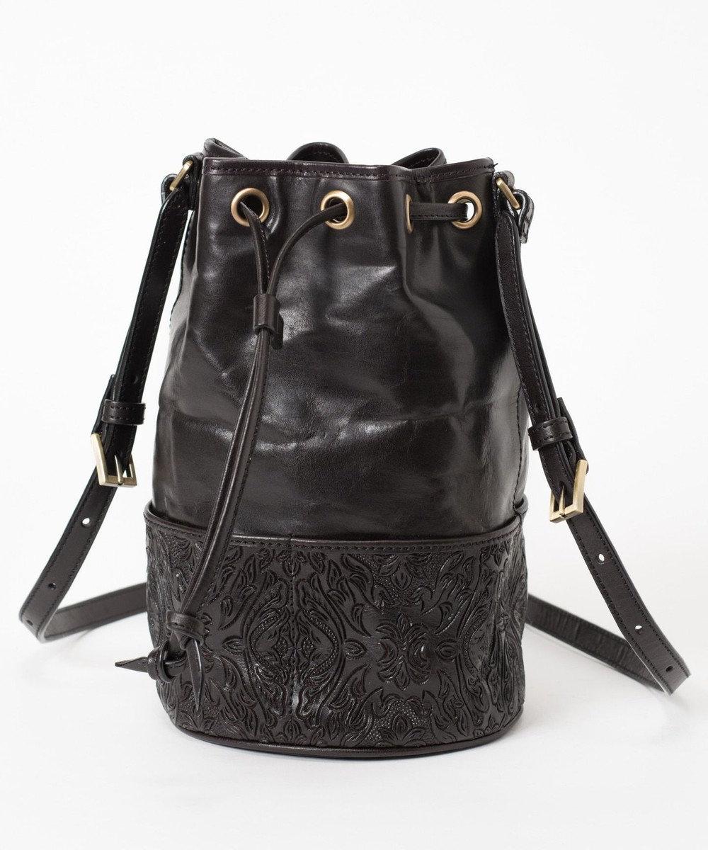GRACE CONTINENTAL Drawstring Bag ブラック