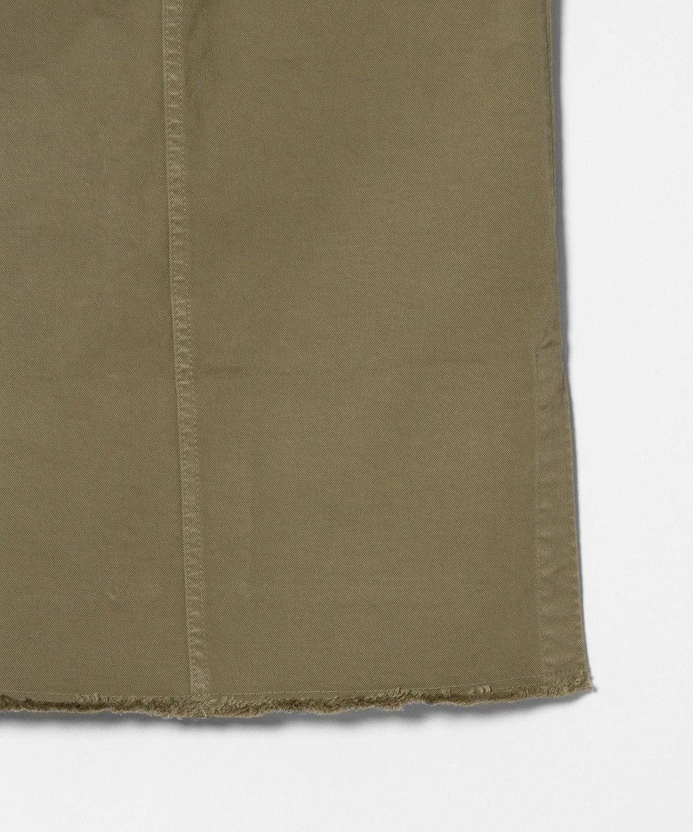 GRACE CONTINENTAL スリットタイトスカート カーキ