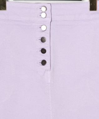 GRACE CONTINENTAL スリットタイトスカート ラベンダー