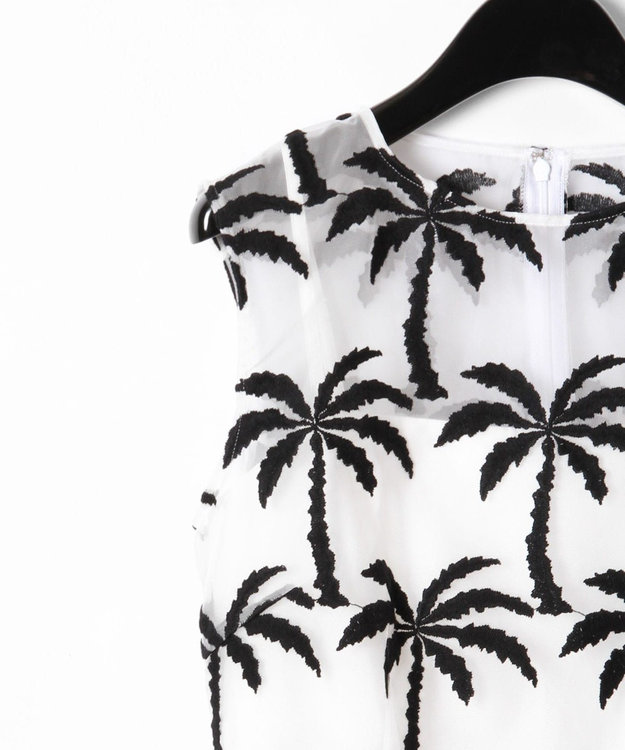 GRACE CONTINENTAL Palm tree ドレス