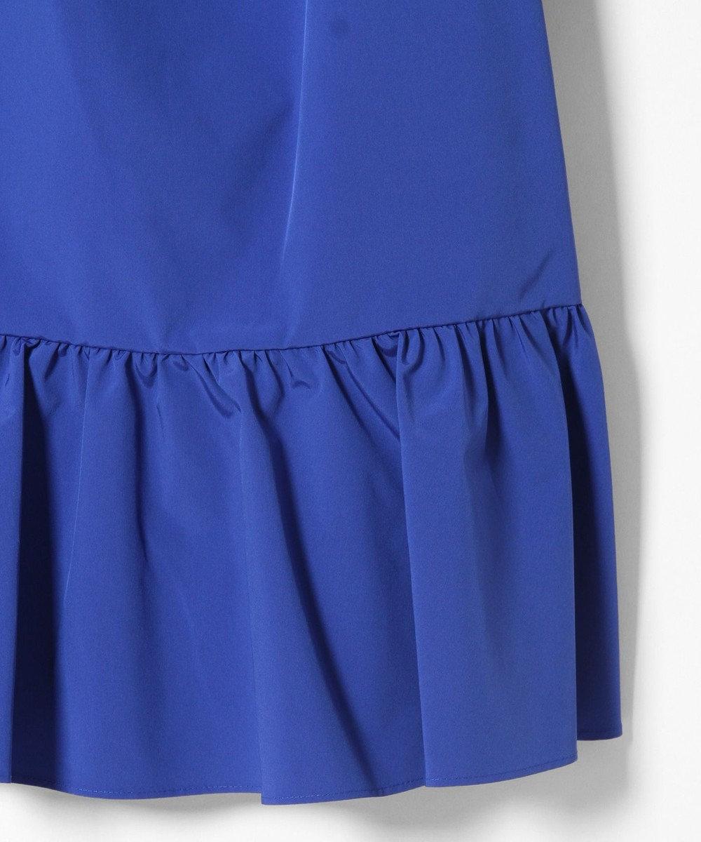 GRACE CONTINENTAL タフタミニドレス ブルー