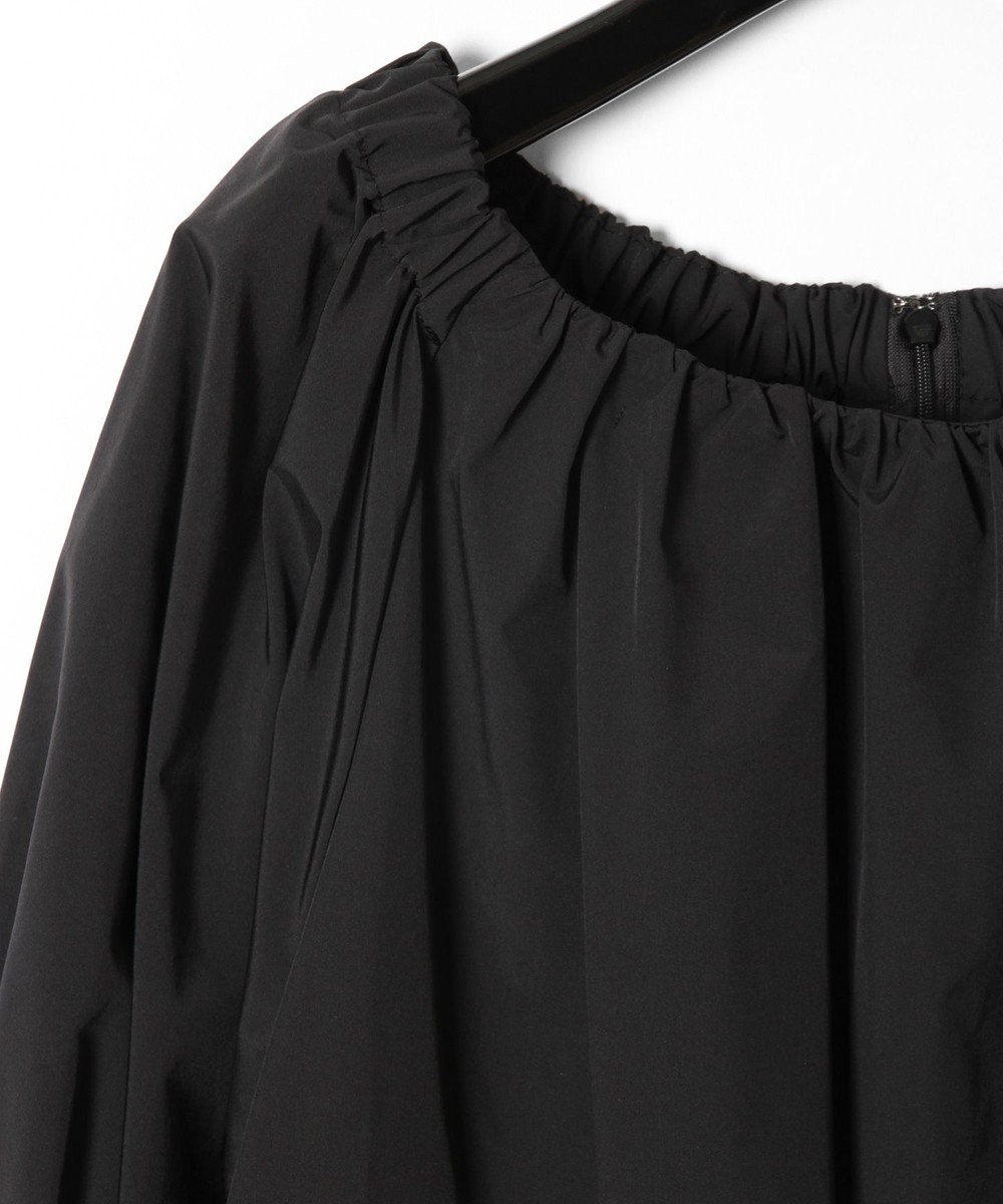 GRACE CONTINENTAL タフタミニドレス ブラック