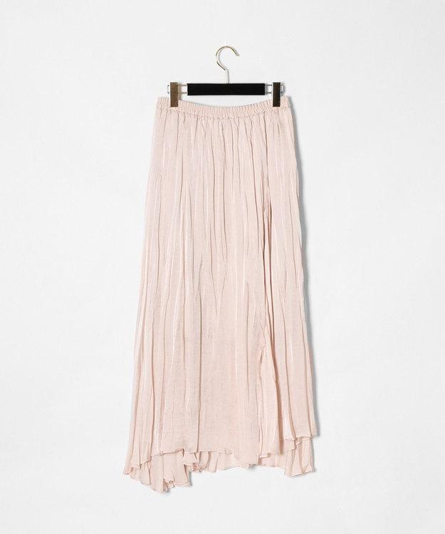 GRACE CONTINENTAL ワッシャープリーツスカート