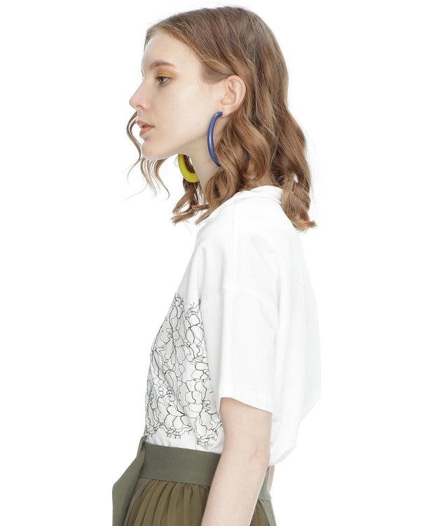 GRACE CONTINENTAL リバーレースTシャツ