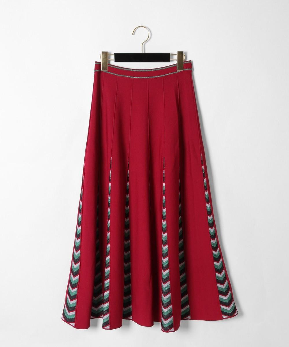ラメマルチニットスカート