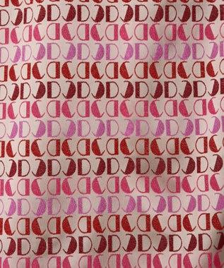 GRACE CONTINENTAL モノグラムジャガードワンピース ピンク