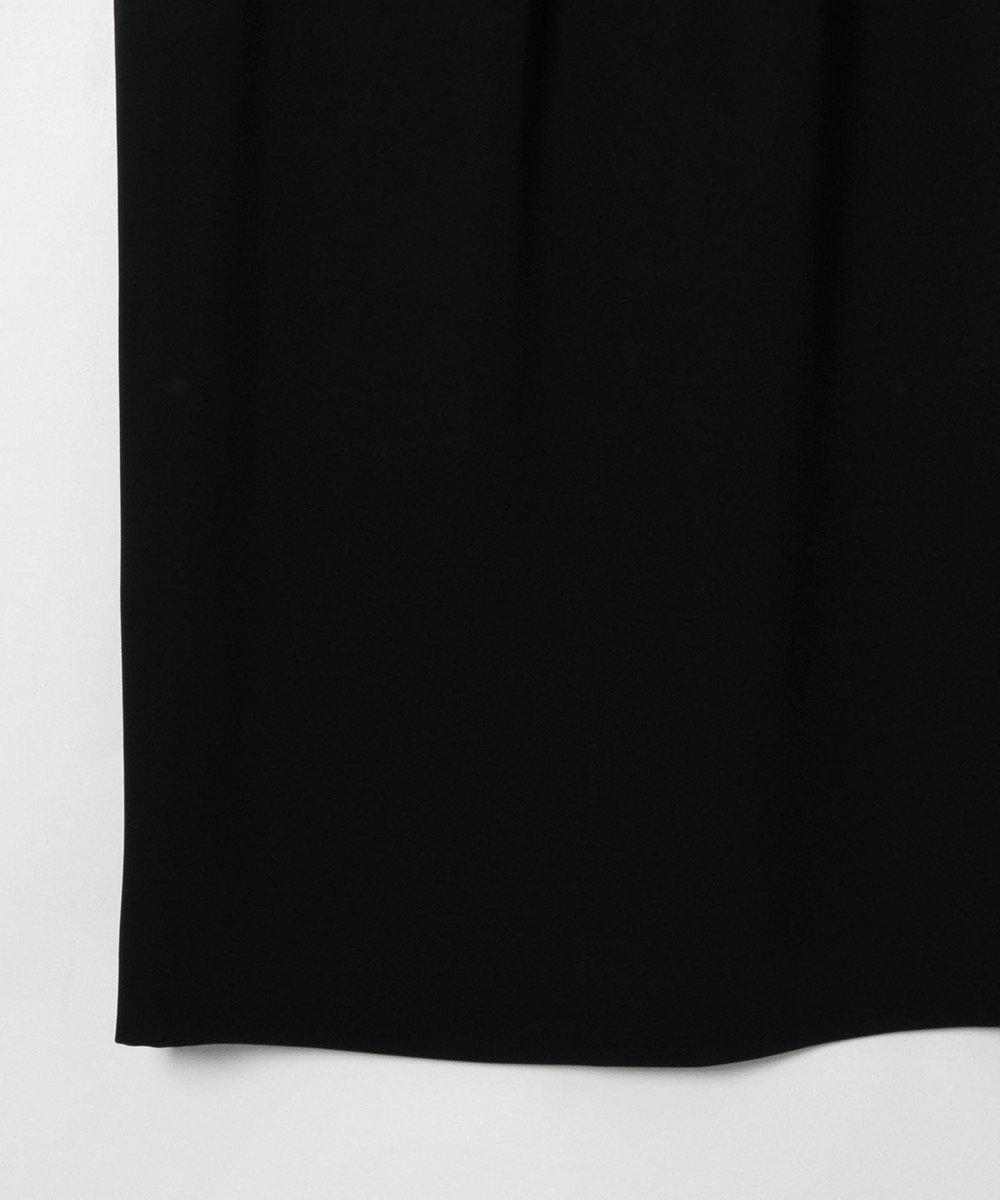 GRACE CONTINENTAL オーガンラッフルドレス ブラック