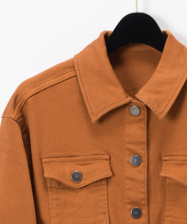 GRACE CONTINENTAL デニムロングシャツ