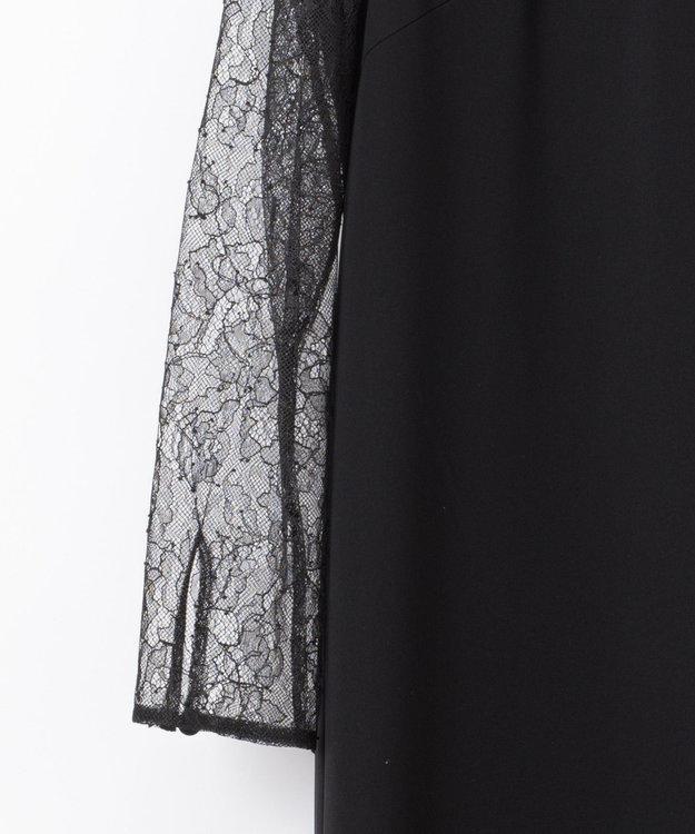 GRACE CONTINENTAL レース切替ドレス