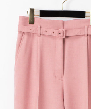 GRACE CONTINENTAL ハイウエストテーパーパンツ ピンク