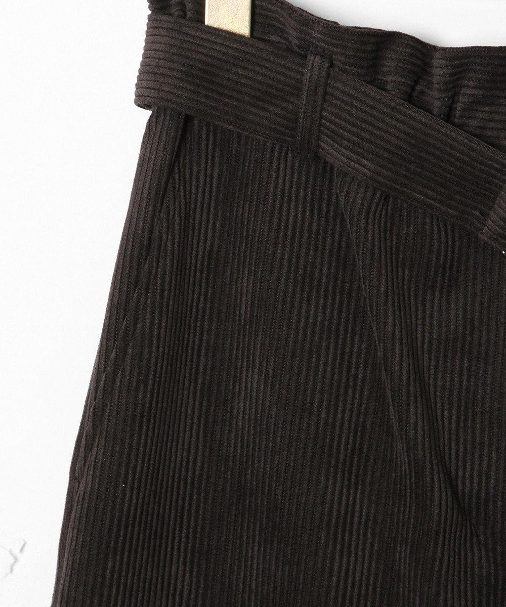 GRACE CONTINENTAL コーデュロイワイドパンツ ブラック