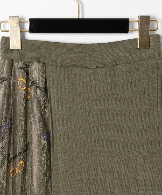 GRACE CONTINENTAL サングラスレースニットスカート