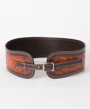 GRACE CONTINENTAL Carving Belt ハニー