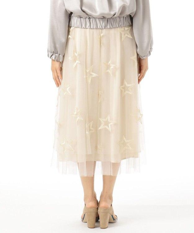 GRACE CONTINENTAL スター刺繍チュールスカート