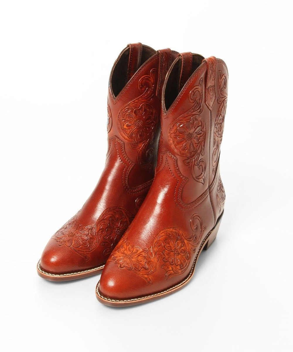 GRACE CONTINENTAL WesternBoots ブラウン