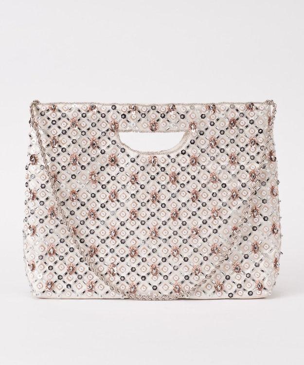 GRACE CONTINENTAL レイヤースパン刺繍バッグ