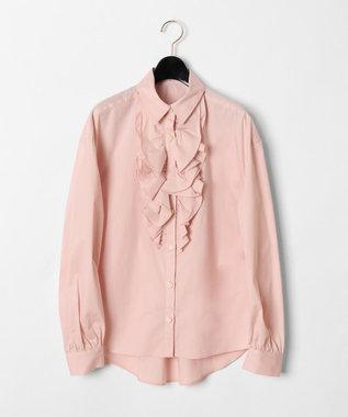 GRACE CONTINENTAL フリルドレスシャツ ピンク
