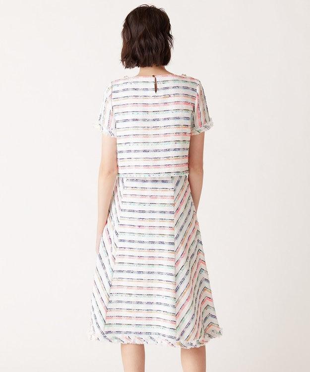 GRACE CONTINENTAL マルチツイードスカート