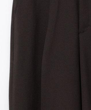 GRACE CONTINENTAL トリアセタックパンツ ブラック