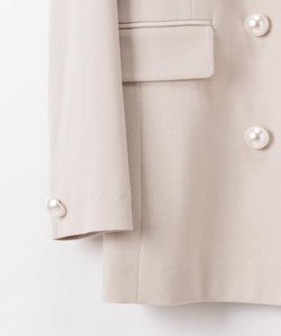 GRACE CONTINENTAL STダブルブレストジャケット ベージュ
