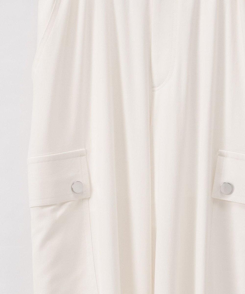 GRACE CONTINENTAL ストレートカーゴパンツ ホワイト