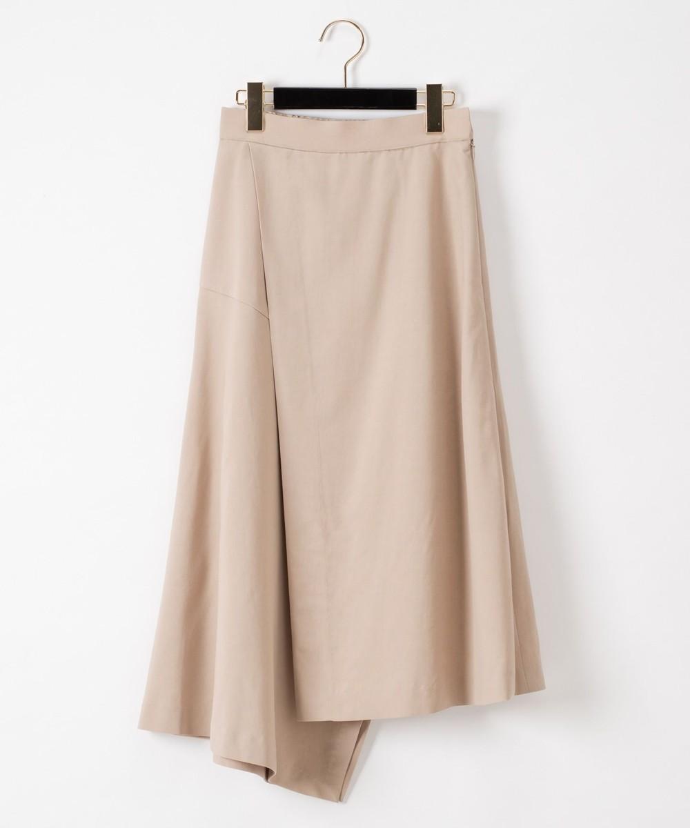 ラップイレギュラースカート