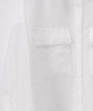 GRACE CONTINENTAL オーガンシャツブラウス ホワイト