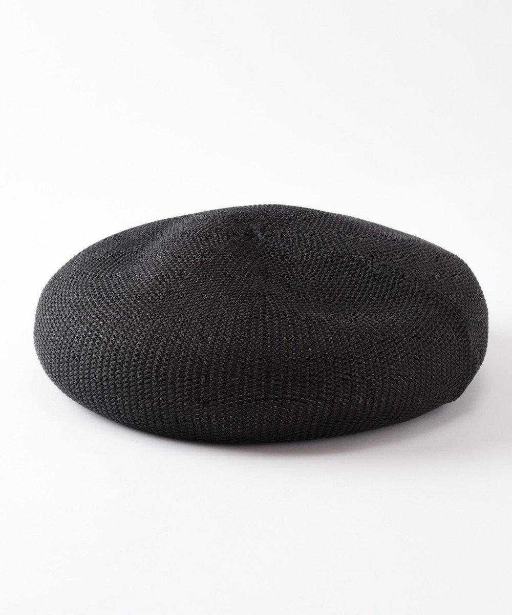 GRACE CONTINENTAL ハイニットカノコベレー ブラック