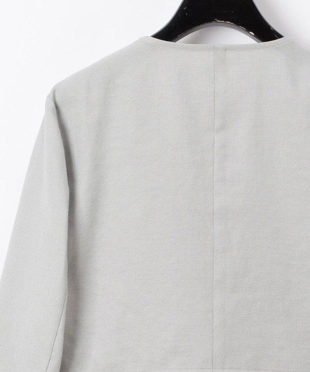 GRACE CONTINENTAL リネンライクドロストジャケット