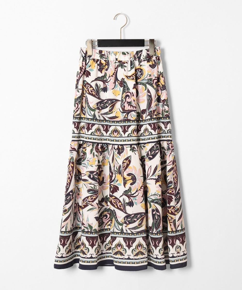 サラサパターンスカート