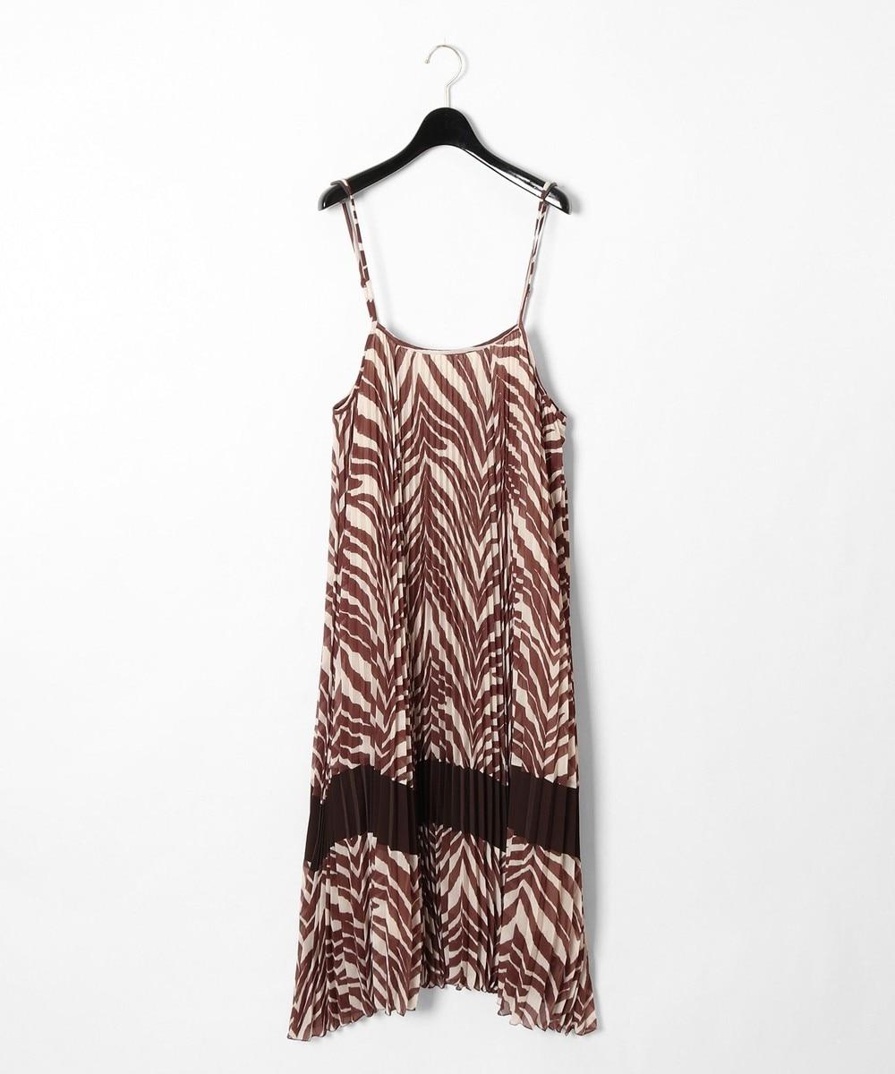 ゼブラプリントジャンパースカート