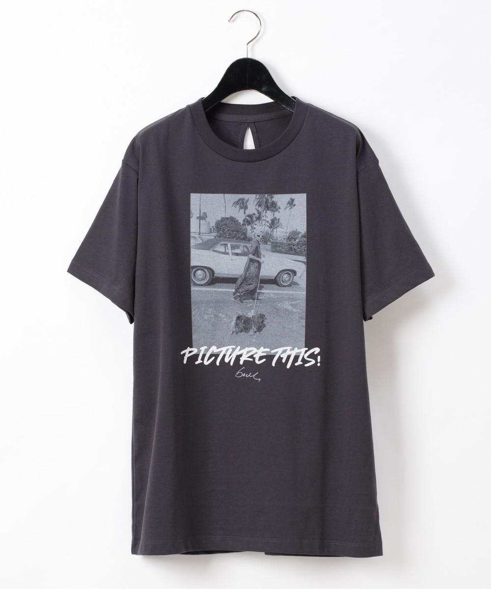 GODLISフォトロゴTシャツ