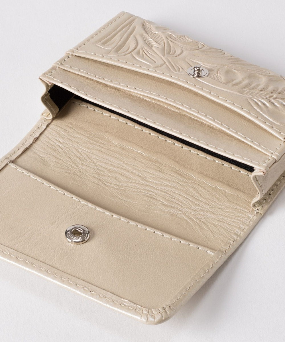 GRACE CONTINENTAL Card Case パールホワイト