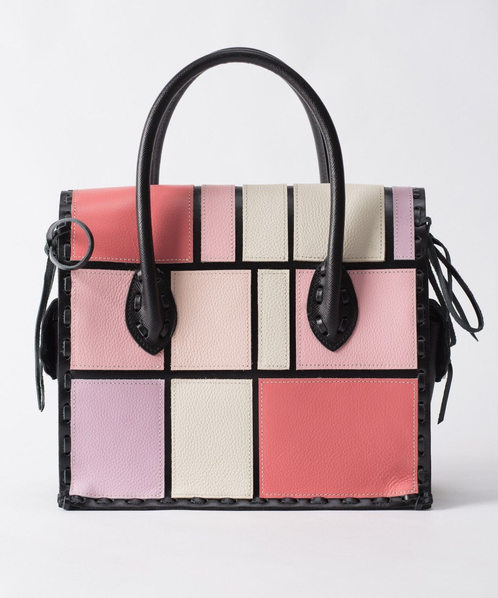 GRACE CONTINENTAL Color Block MS ピンク