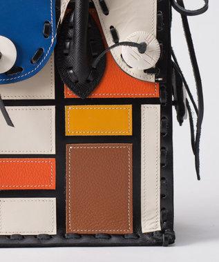 GRACE CONTINENTAL Color Block MS ブルー