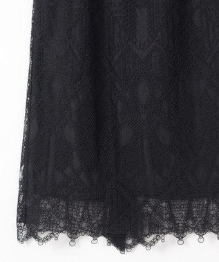 GRACE CONTINENTAL ジオメコードスカート ブラック