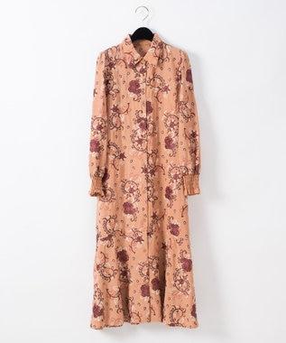 刺繍シャツワンピース
